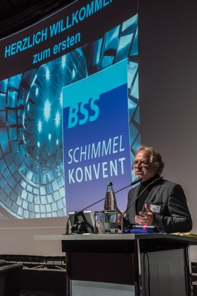 Durch das Tagungsprogramm führte der 1. Vorsitzende des BSS, Dr. Wolfgang Lorenz